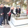 MHP'LİLER ŞEHİTLİĞİ ZİYARET ETTİLER