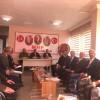 MHP'DE İLÇE BAŞKANLARI İLE İSTİŞARE TOPLANTISI YAPILDI