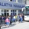 ARALIK AYINDA MALATYA HAVALİMANI'NDA 58.157 YOLCUYA HİZMET VERİLDİ