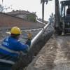 MASKİ'DEN, 6 BİN 400 METRELİK İÇMESUYU HATTI