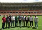 YENİ MALATYA STADYUMU'NDA UEFA'DAN DENETİM