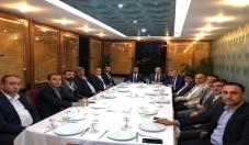 MHP İL BAŞKANI AVŞAR İSTANBUL'DA FEDERASYON BAŞKANLARI İLE BİRARAYA GELDİ