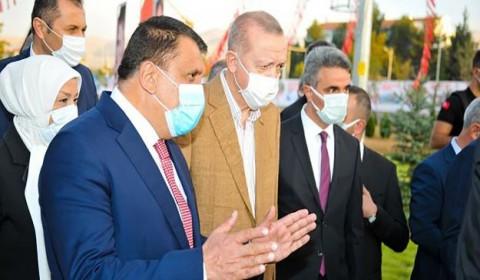 'CUMHURBAŞKANI MEMNUN KALDI, TEŞEKKÜR ETTİ'