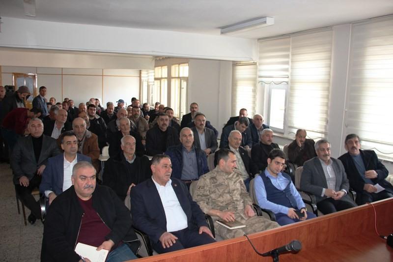 ARAPGİR'DE KAMU KURUMLARIYLA İSTİŞARE TOPLANTISI