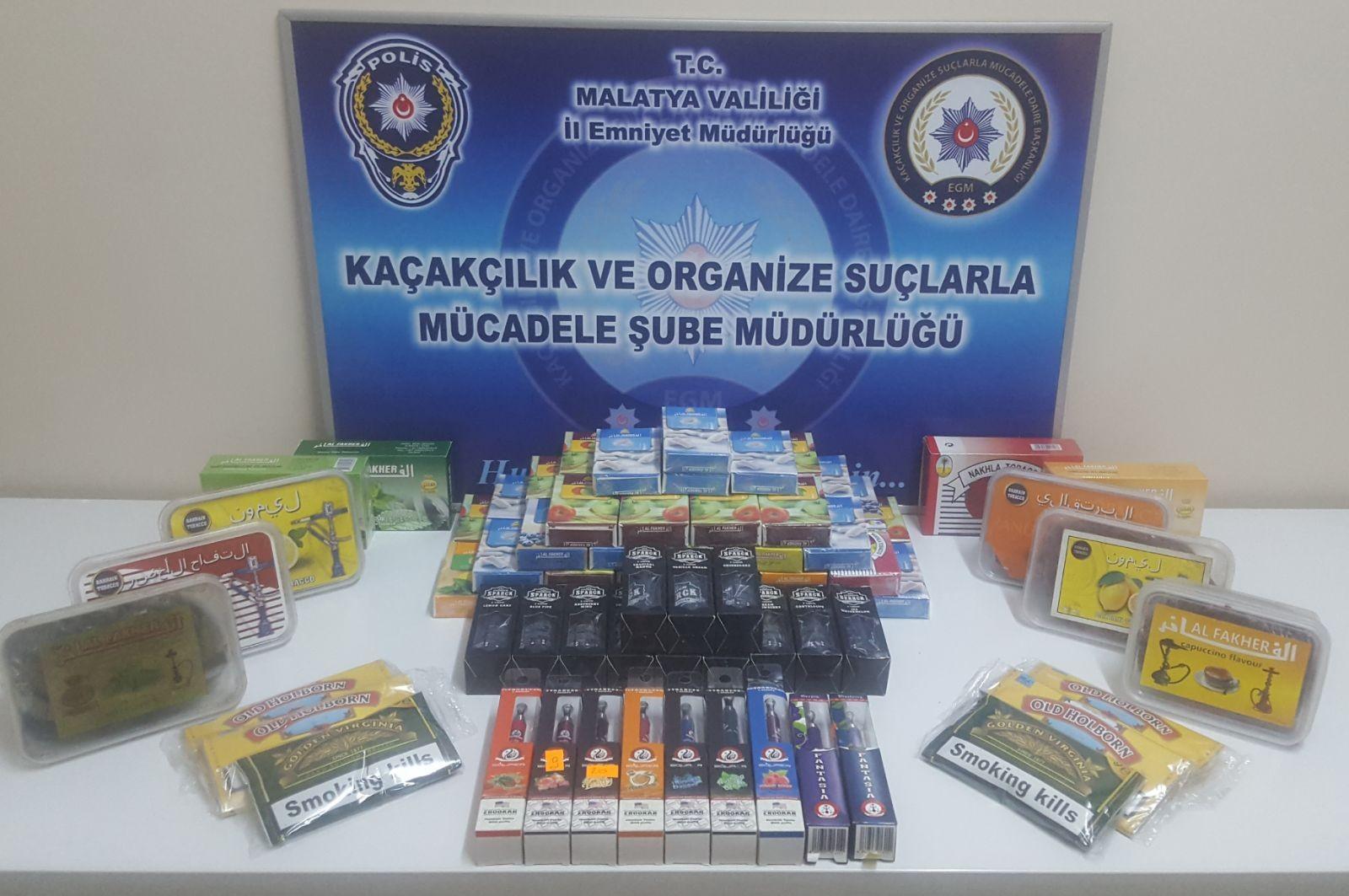 MALATYA POLİSİ KAÇAKÇILARA GÖZ AÇTIRMIYOR