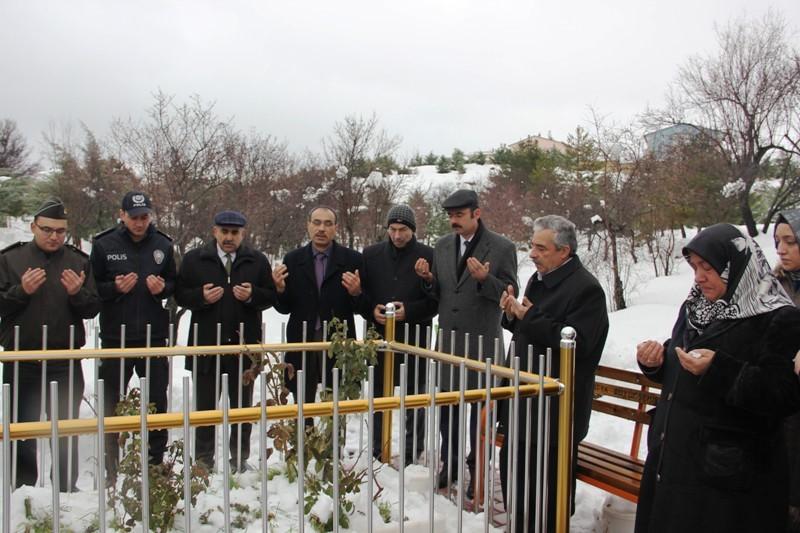 ŞEHİT HÜSNÜ BİLGİÇ İÇİN ARAPGİR'DE ANMA PROGRAMI DÜZENLENDİ
