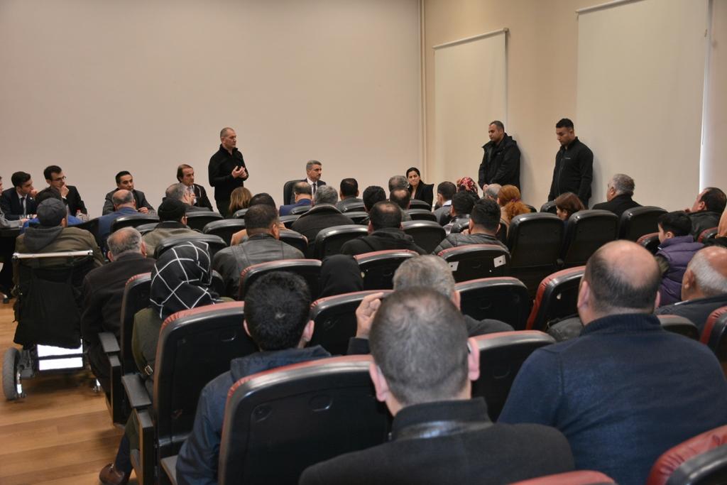 VALİ BARUŞ, HALK GÜNÜ TOPLANTISINDA 3. KEZ VATANDAŞLARLA BULUŞTU