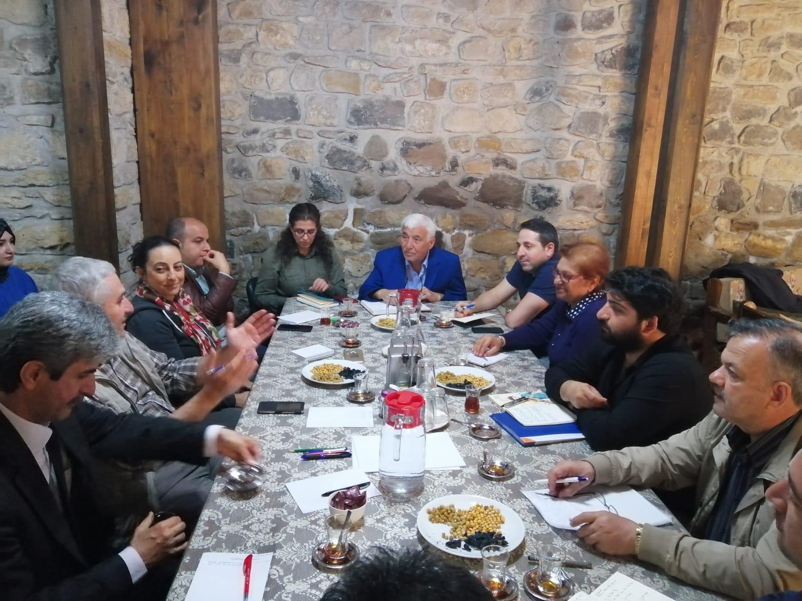 ÇEKÜL HEYETİ ARAPGİR'DE İNCELEMELERDE BULUNDU