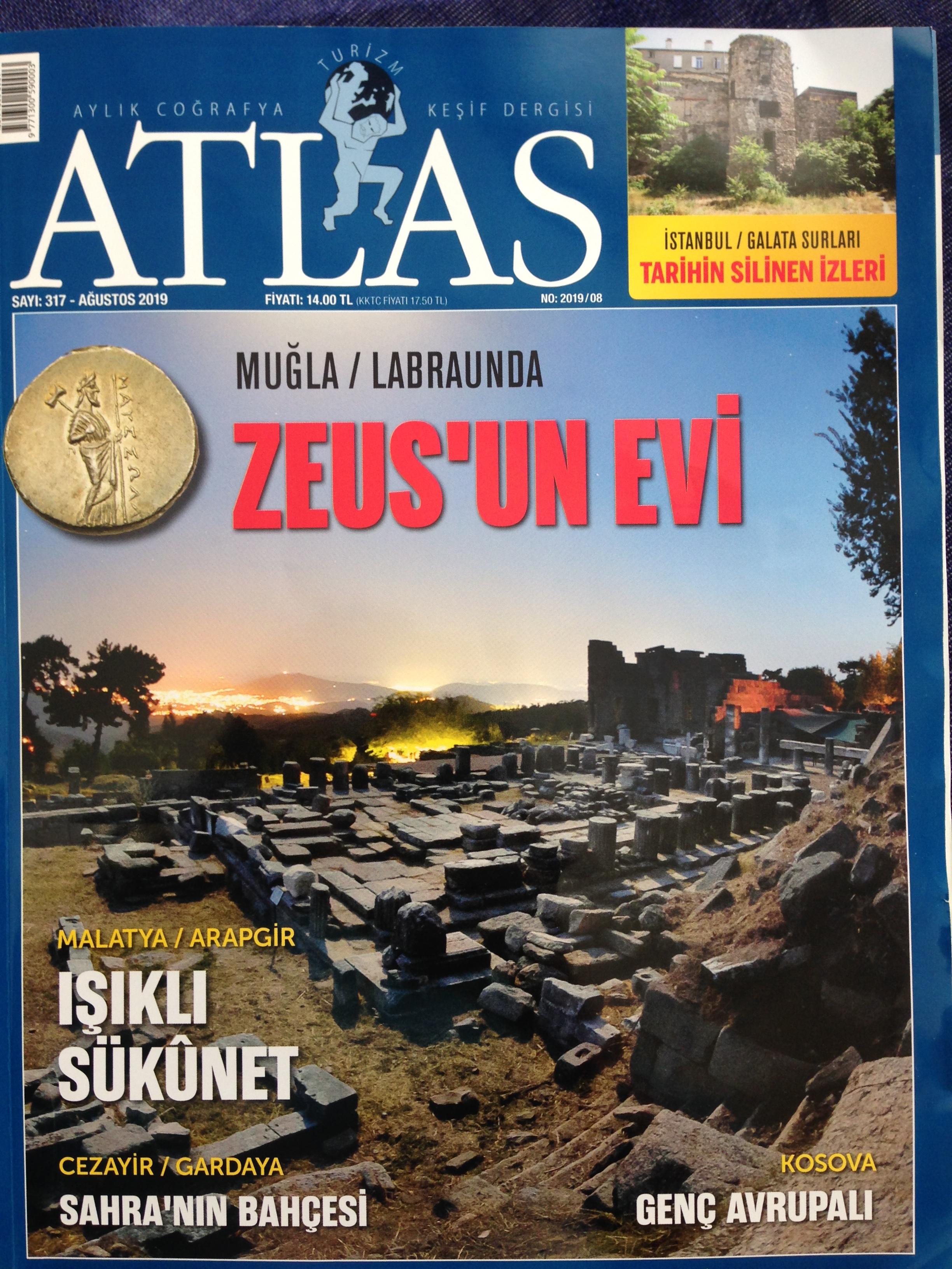 ATLAS DERGİSİ ARAPGİR'E BÜYÜK YER VERDİ