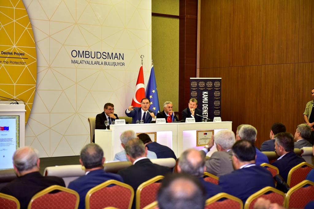 """""""OMBUDSMAN HALKLA BULUŞUYOR"""" TOPLANTISI DÜZENLENDİ"""