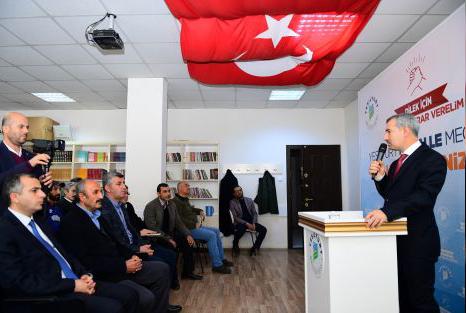 'MAHALLE MECLİSLERİ' DİLEK MAHALLESİNDE DE HAYATA GEÇTİ