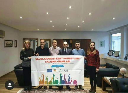 'ULUSLARARASI KENT KONSEYLERİ ÇALIŞMA GRUPLARI' TOPLANTISI ALMANYA'DA YAPILDI