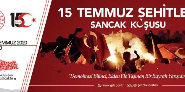 '15 TEMMUZ ŞEHİTLERİ SANCAK KOŞUSU' YAPILACAK